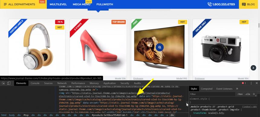 OpenCart 的 Journal 版型 即將支援 webp 圖片格式