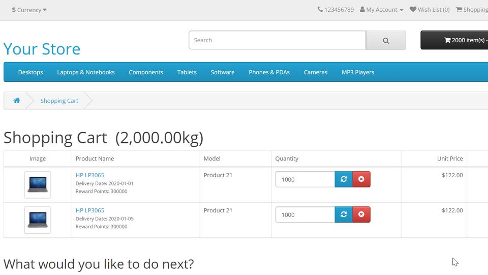 OpenCart 結帳時的商品庫存檢查邏輯